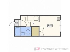札幌市豊平区水車町2丁目0賃貸マンション間取図面