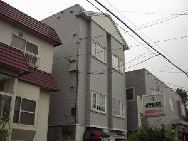 札幌市豊平区旭町3丁目0賃貸アパート外観写真