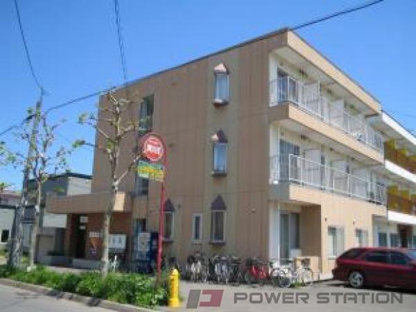 札幌市豊平区旭町3丁目0賃貸マンション外観写真