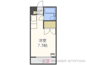 学園前1Rマンション図面