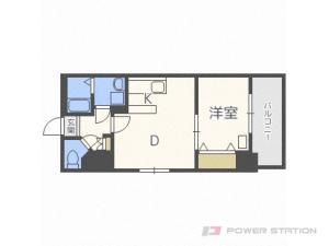 札幌市豊平区豊平8条8丁目0賃貸マンション間取図面