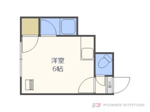札幌市豊平区豊平7条8丁目0賃貸マンション間取図面
