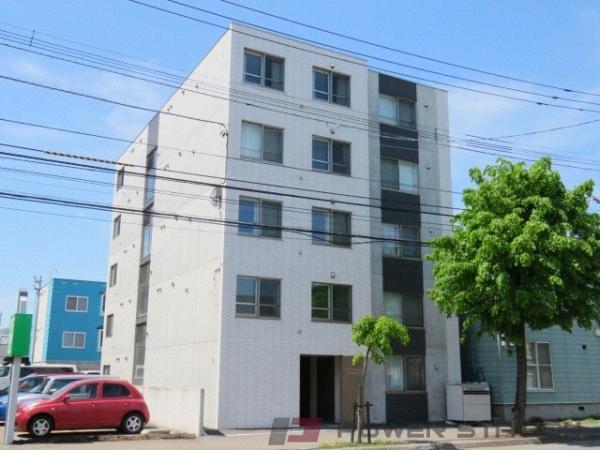 札幌市豊平区豊平3条10丁目0賃貸マンション外観写真