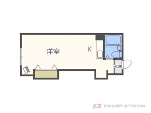 札幌市豊平区水車町7丁目0賃貸マンション間取図面