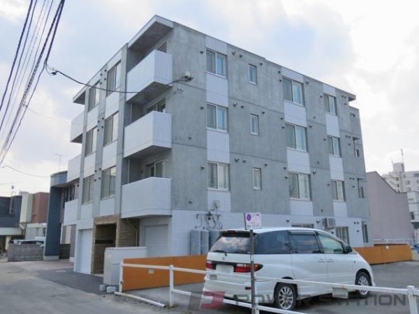 札幌市豊平区平岸2条1丁目1賃貸マンション外観写真