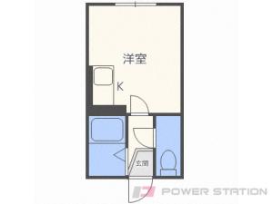 札幌市豊平区平岸4条2丁目0賃貸マンション間取図面
