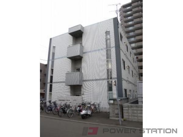 豊平公園1Kマンション外観
