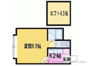 札幌市豊平区美園3条1丁目0賃貸マンション間取図面