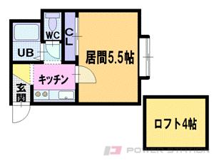 札幌市豊平区美園3条2丁目0賃貸マンション間取図面