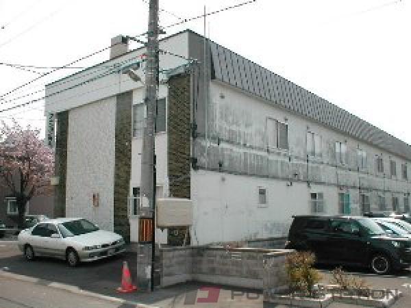 札幌市豊平区中の島1条3丁目0賃貸マンション外観写真