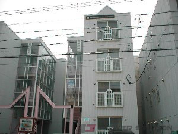 札幌市豊平区中の島2条3丁目1賃貸マンション外観写真