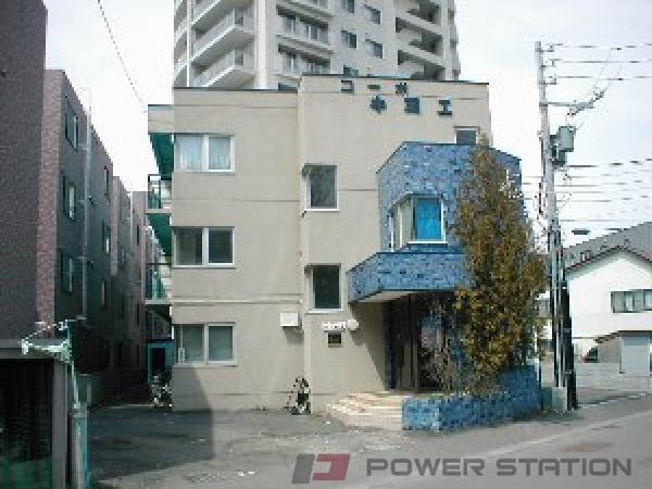 札幌市豊平区中の島2条1丁目0賃貸マンション外観写真