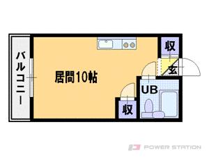 札幌市豊平区平岸3条6丁目0賃貸マンション間取図面