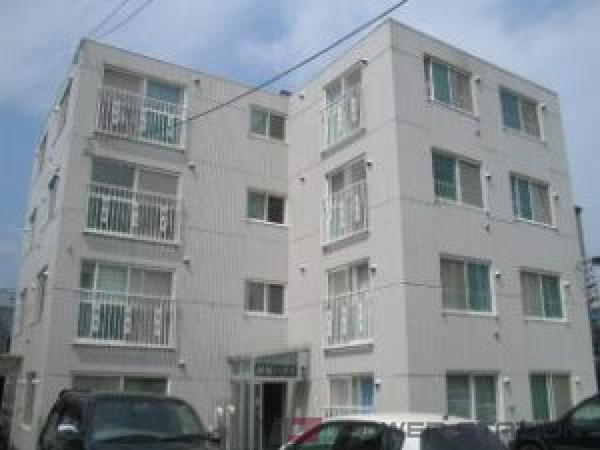 札幌市豊平区平岸4条3丁目0賃貸マンション外観写真