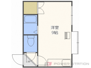 札幌市豊平区平岸4条4丁目0賃貸アパート間取図面