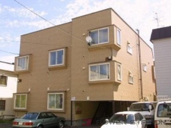 札幌市豊平区平岸5条6丁目1賃貸アパート外観写真