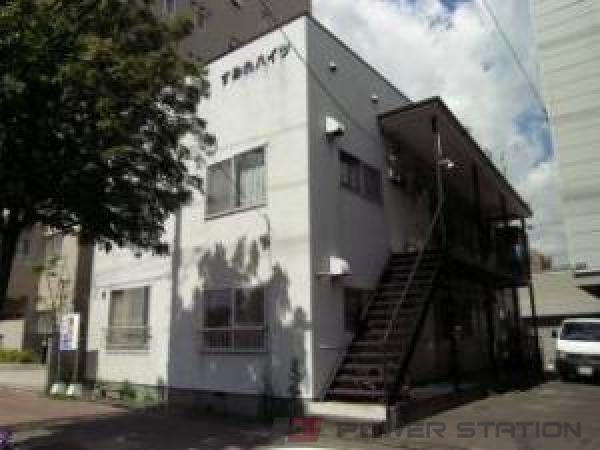 札幌市豊平区美園7条6丁目0賃貸マンション外観写真