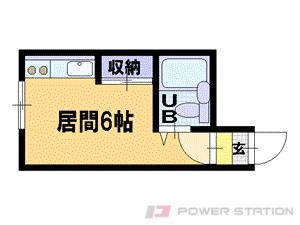 札幌市豊平区美園3条8丁目1賃貸マンション間取図面