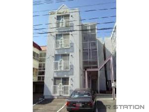 札幌市豊平区中の島2条3丁目1賃貸アパート外観写真