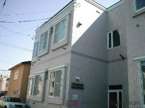 平岸1Kマンション外観