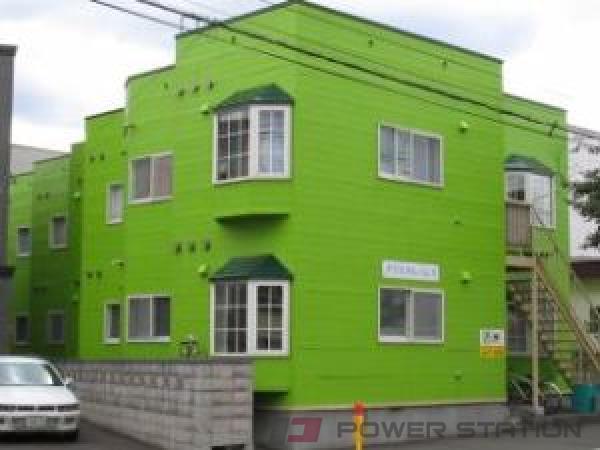 札幌市豊平区美園10条6丁目0賃貸アパート外観写真