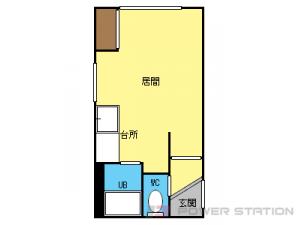 札幌市豊平区月寒西1条3丁目0賃貸マンション間取図面