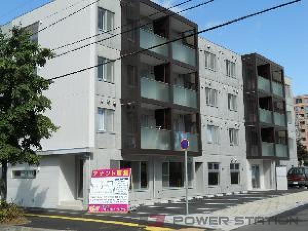 札幌市豊平区豊平6条5丁目0賃貸マンション外観写真