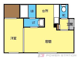 札幌市豊平区月寒東1条4丁目0賃貸マンション間取図面