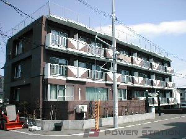 札幌市豊平区月寒東4条7丁目1賃貸マンション外観写真