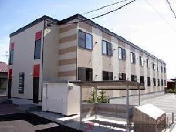 東札幌1Kアパート外観