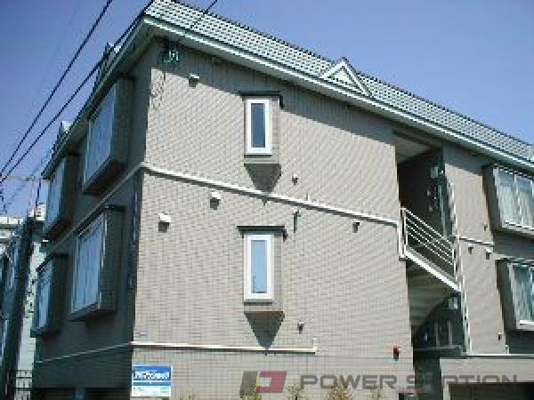 札幌市豊平区中の島1条7丁目0賃貸アパート外観写真