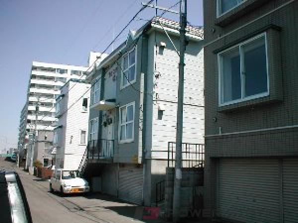 札幌市豊平区中の島1条7丁目0賃貸マンション外観写真