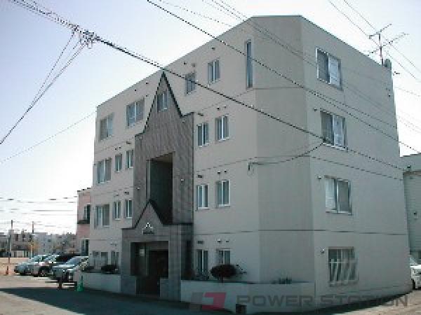 札幌市豊平区中の島1条5丁目0賃貸マンション外観写真