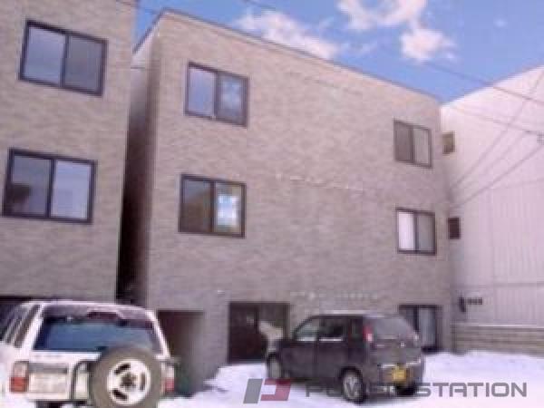 札幌市豊平区中の島1条6丁目0賃貸マンション外観写真
