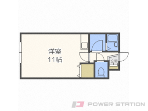 札幌市豊平区月寒中央通7丁目0賃貸アパート間取図面