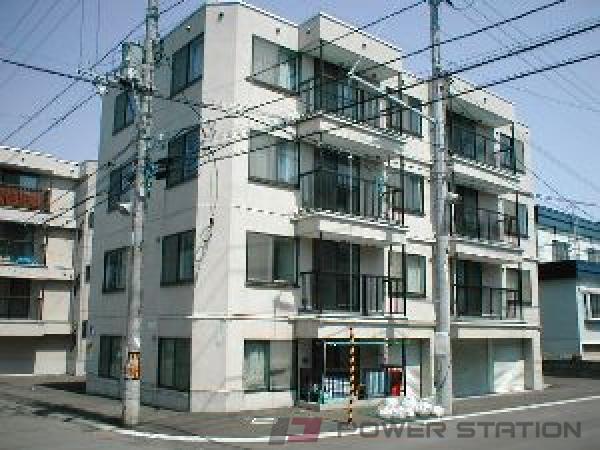 澄川1DKマンション外観