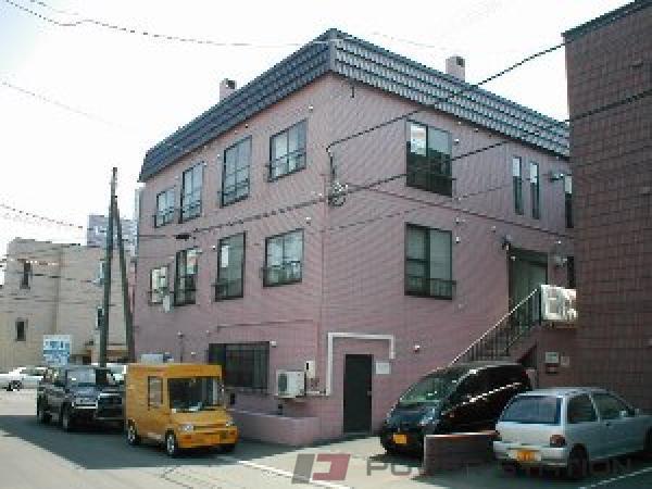 札幌市豊平区中の島1条9丁目0賃貸マンション外観写真