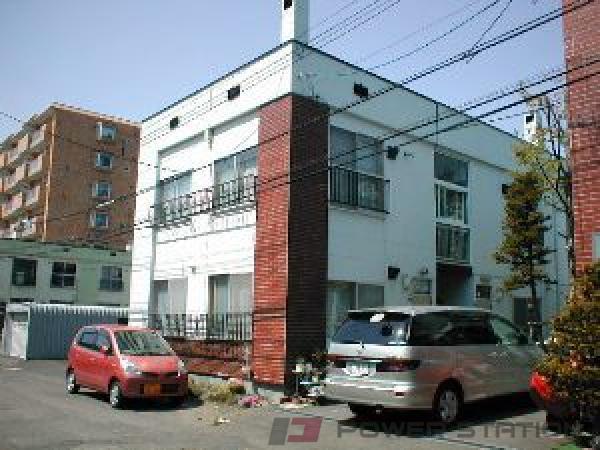 札幌市豊平区中の島2条8丁目0賃貸アパート外観写真