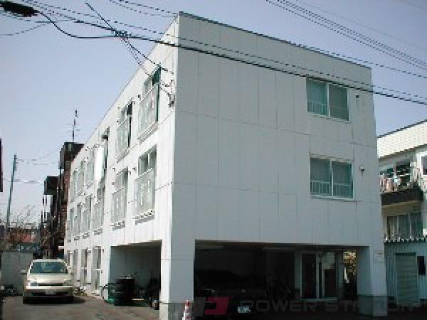 札幌市豊平区中の島2条9丁目0賃貸マンション外観写真