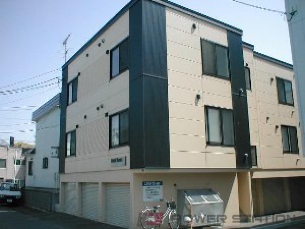 札幌市豊平区中の島2条9丁目0賃貸アパート外観写真