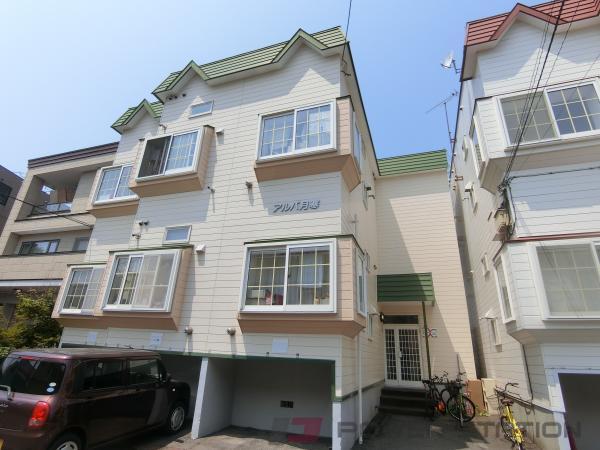 札幌市豊平区月寒東2条11丁目0賃貸アパート外観写真