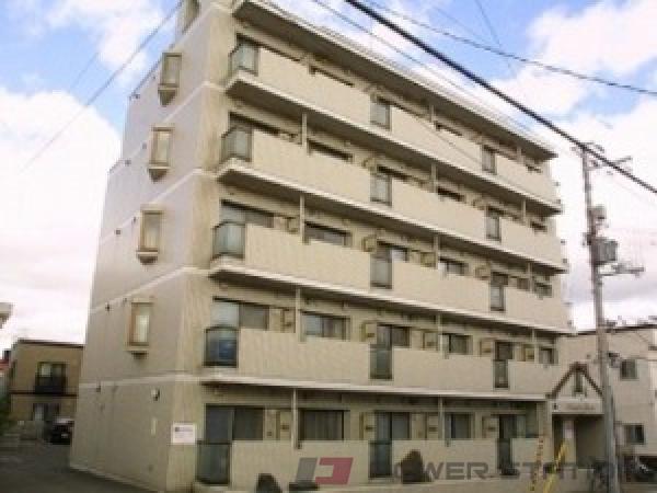 澄川1K分譲リースマンション外観