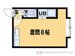 札幌市豊平区平岸3条18丁目0賃貸マンション間取図面