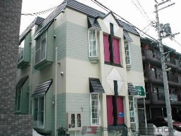 札幌市豊平区平岸3条18丁目0賃貸アパート外観写真