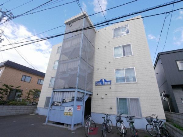 札幌市豊平区西岡2条8丁目0賃貸マンション外観写真