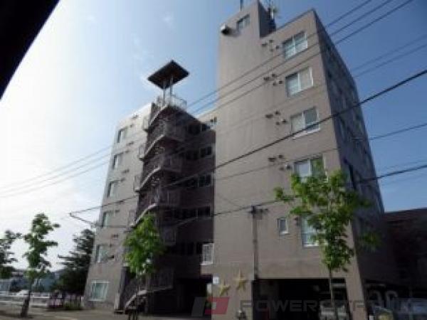 澄川1Kマンション外観