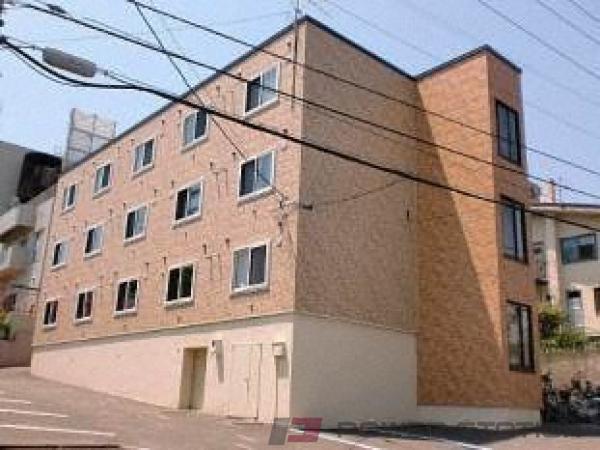 札幌市豊平区西岡4条10丁目0賃貸マンション外観写真