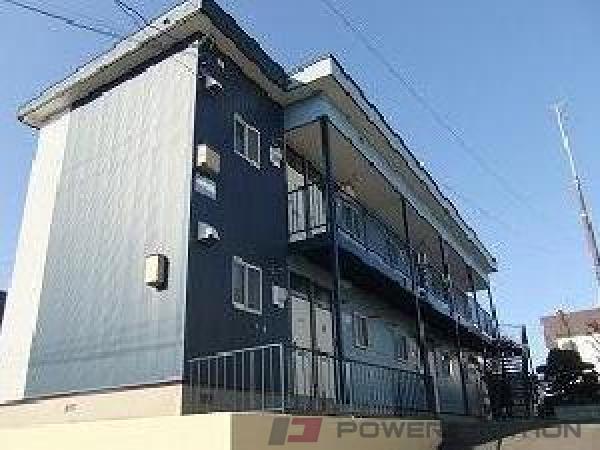 澄川1Rアパート外観