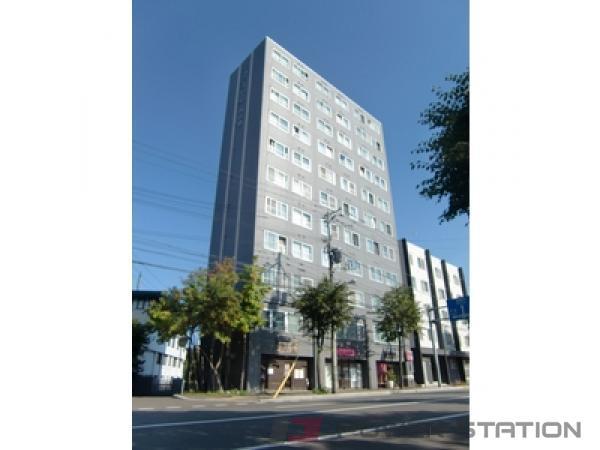 札幌市豊平区中の島2条3丁目0賃貸マンション外観写真