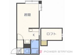 札幌市豊平区月寒西4条6丁目1賃貸アパート間取図面